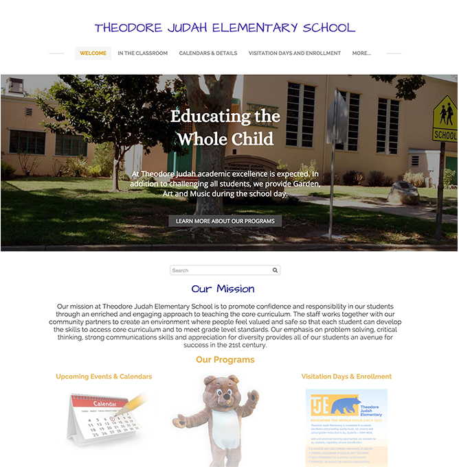 Photo: Theodore Judah Elementary School
